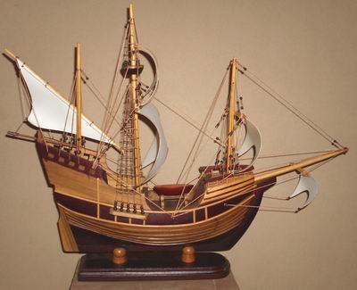 Miniatur Kapal kayu Pinta
